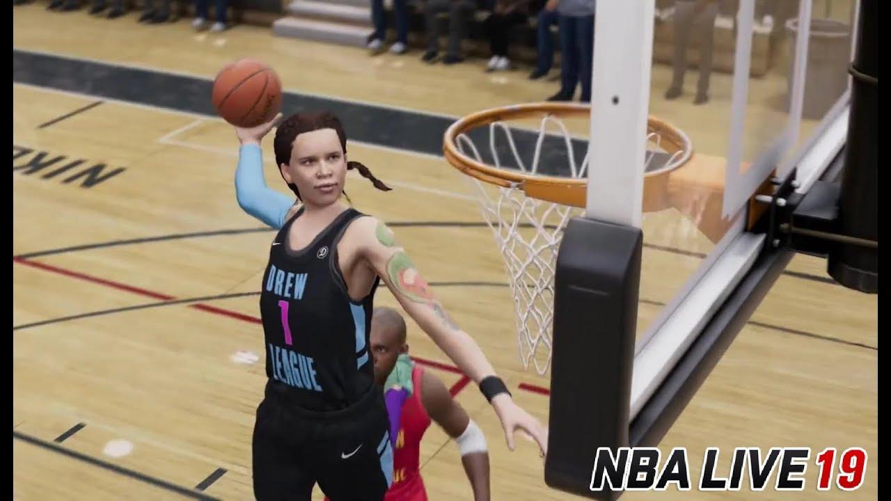 NBA Live 19 WNBA Player Ratings