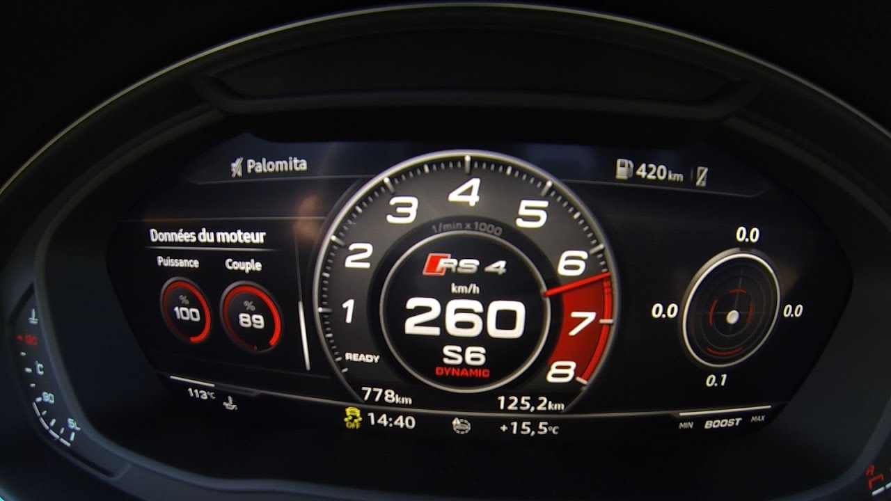 new audi rs4 2018 acceleration 0 260 top speed youtube rh youtube com