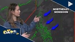 PTV INFO WEATHER: Northeast Monsoon, patuloy pa ring umiiral sa malaking bahagi ng Luzon at Visayas