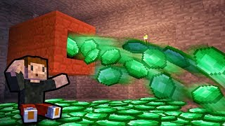MILIARD EMERALDÓW na SEKUNDĘ! - Minecraft Caveblock 2.0