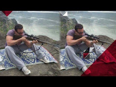 Saif Ali Khan's TIMEPASS On The Sets On 'Rangoon' | Bollywood News