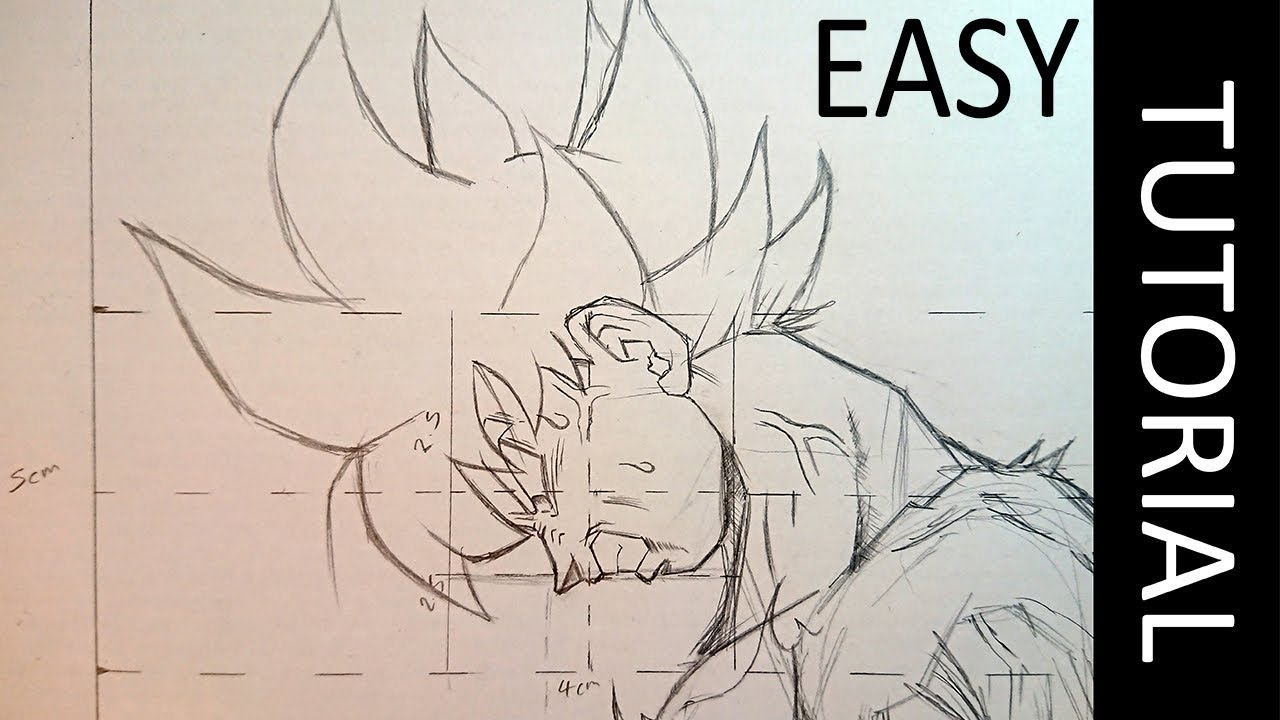How To Draw Goku Easy Indepth Guide Youtube