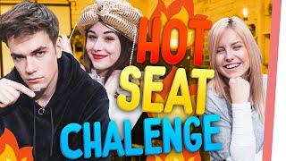 KranCrafter is BACK! | HOT Seat Challenge mit Janaxnell und Max