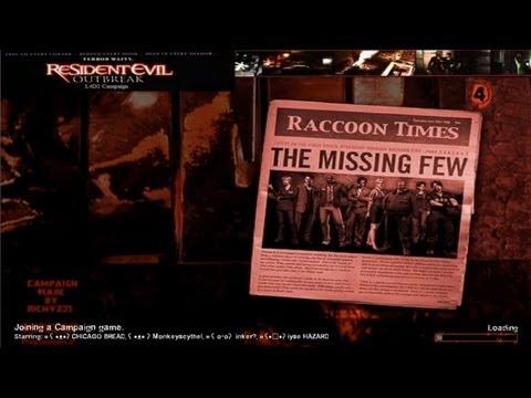 Left 4 Dead 2: Resident Evil Outbreak File 1 - Expert