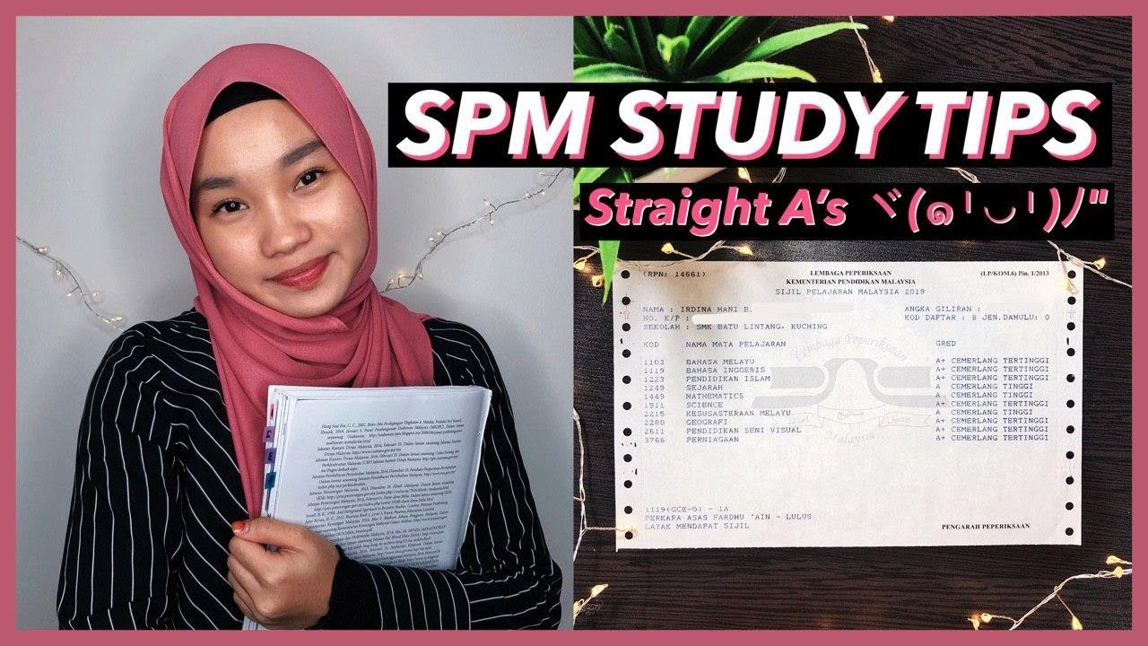 how i got straight a s in spm 20 spm study tips irdina hani youtube how i got straight a s in spm 20 spm study tips irdina hani