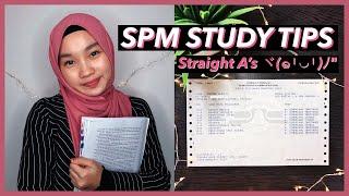 How I Got Straight A's In Spm   20 Spm Study Tips   // Irdina Hani