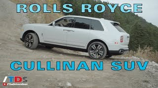 2019 Rolls Royce Cullinan SUV - God Save the Queen