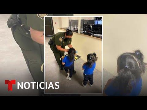 Así están las niñas ecuatorianas que dejaron caer del muro   Noticias Telemundo