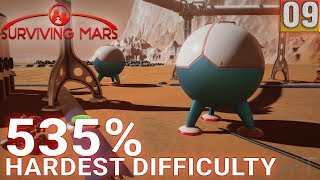 Surviving Mars 535% HARDEST DIFFICULTY - Part 09 - The Best Start Ever! - Gameplay (1440p)