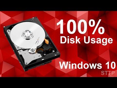 Fix 100% Disk Usage Windows 10