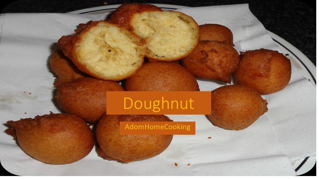 Ghana Recipe For Doughnuts How To Make Doughnut Youtube