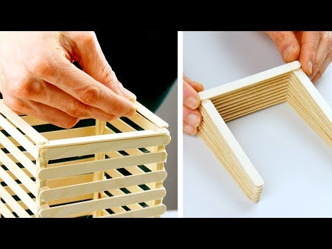 2 Awesome DIY Popsicle Stick Crafts