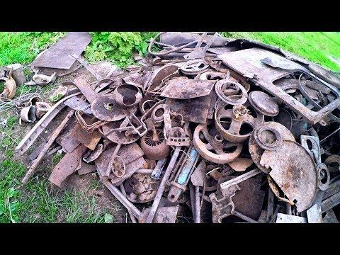 Плюс поиска металлолома в старых деревнях - цветной металл!