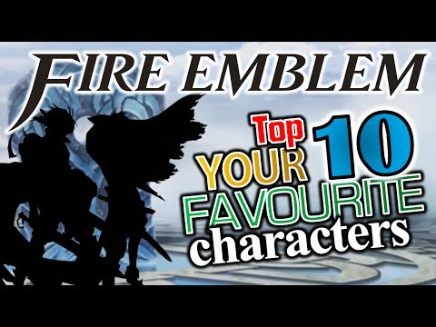 Top 10 - YOUR Favourite Fire Emblem Characters [POLL RESULTS] (Heroes)