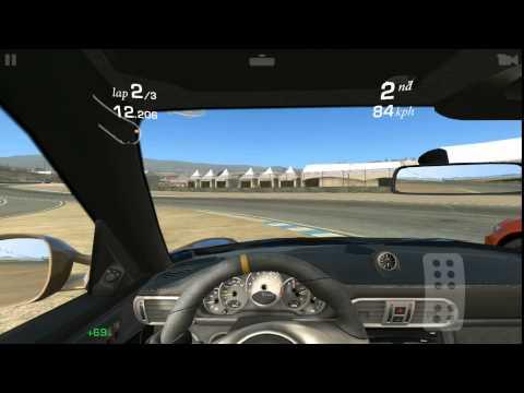 [Real Racing 3] PORSCHE 911 GT3 RS (Mazda Raceway Laguna Seca) Cup