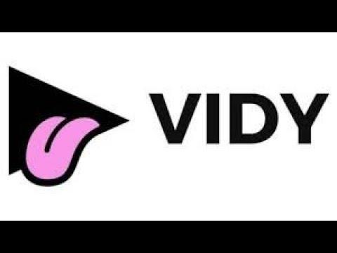 Vidy - реклама на технологии блокчейн.