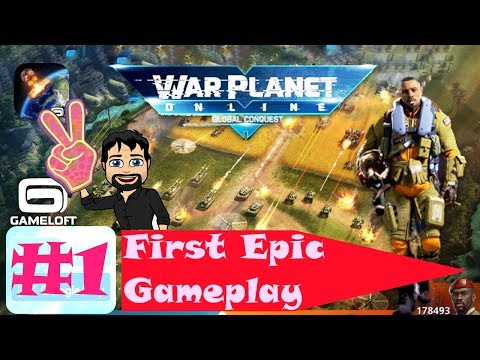 War Planet Online - Global Conquest ** First Epic Gameplay ** Tutorial **