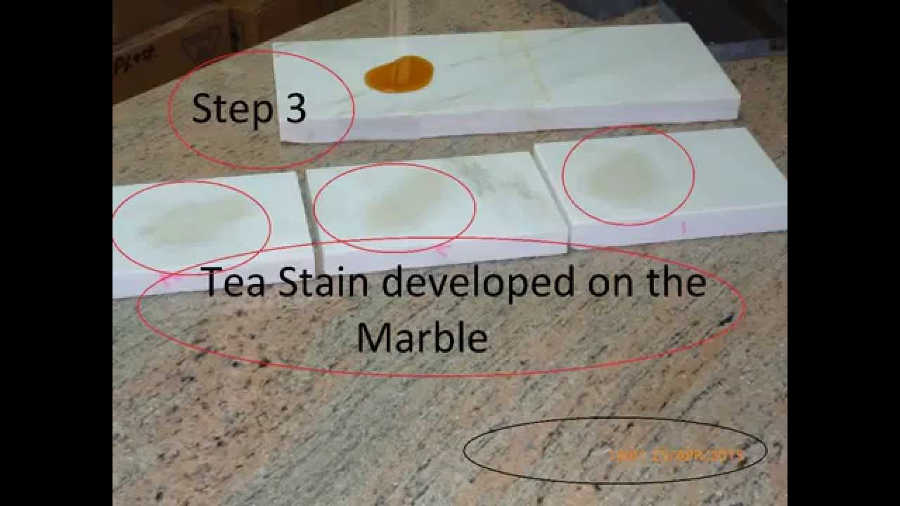 How To Clean Marble Stain Tea Coffee Fruit Juice Wine