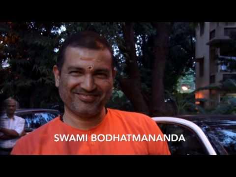 Swami Bodhatmananda about Chinmaya Pradeep