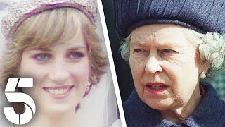 The Queen & Princess Diana's Frightful Relationship   Two Golden Queens   Channel 5 #RoyalFamily