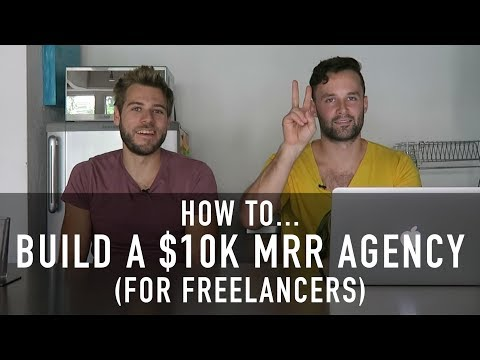 HOW TO BUILD A $10K PER MONTH AGENCY (FOR FREELANCERS) | Mas