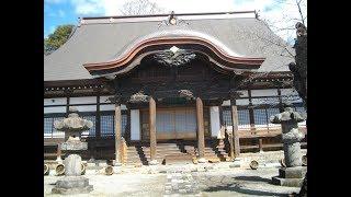 あと半月早ければ涅槃会(2/15)で、涅槃図と木彫狛犬、見ることができ...