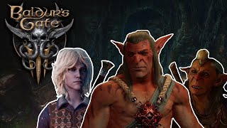 Fighting Dror, Minthara & Gut at the same time - Baldur's Gate 3