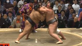 Takayasu vs Tochinoshin - Osaka 2018, Day 11