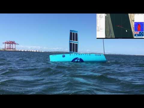 USV 'Bruce' Sailing at Botany Bay