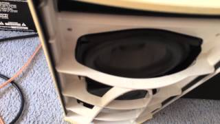 bose subwoofer abuse