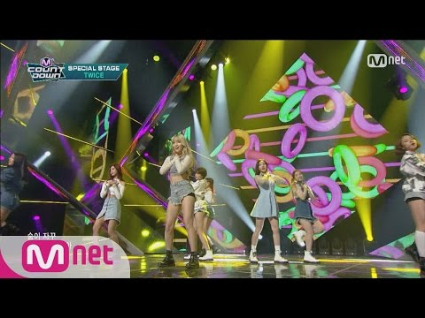 TWICE(트와이스) - Candy Boy(Special Stage) M COUNTDOWN 160107 EP.455
