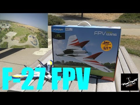 UMX F-27 FPV | Review and First Flight