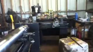 17' Diy Metal Lathe