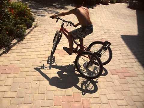 видео: самодельный трехколесный велосипед