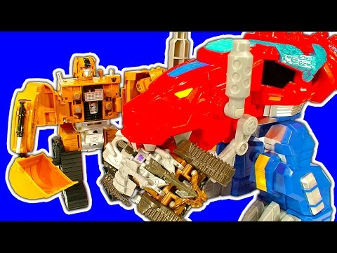 Transformers Easy 2 Do 1-Step Mega Review & Fake Deceptcons Battle