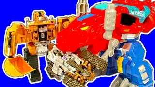 Transformers Easy 2 Do 1-Step Mega Review & Fake Deceptcons Battle
