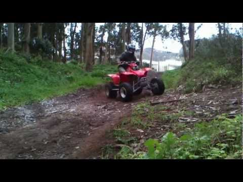Honda TRX 400 EX 1st day out
