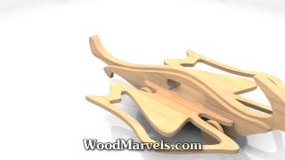 Pterodactyl Cnc: 3d Assembly Animation (720hd)