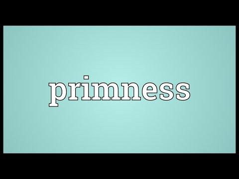 Header of primness