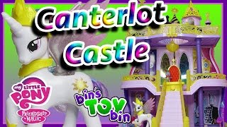 My Little Pony Canterlot Castle Playset with Princess Celestia & Spike! Review by Bin