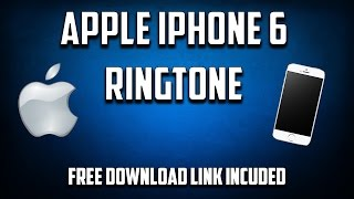 Apple iphone 6 ringtone to download the use link below, wait 5 seconds and click skip ad at top of screen. this will redirect you dow...
