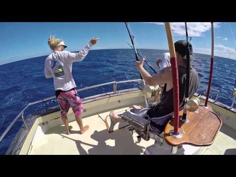 Oahu Hawaii Deep Sea Fishing 2015