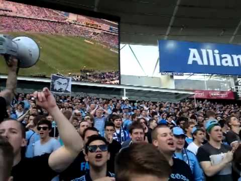 Sydney FC's Cove Chanting For Del Piero