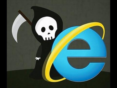 internet explorer (Некролог)