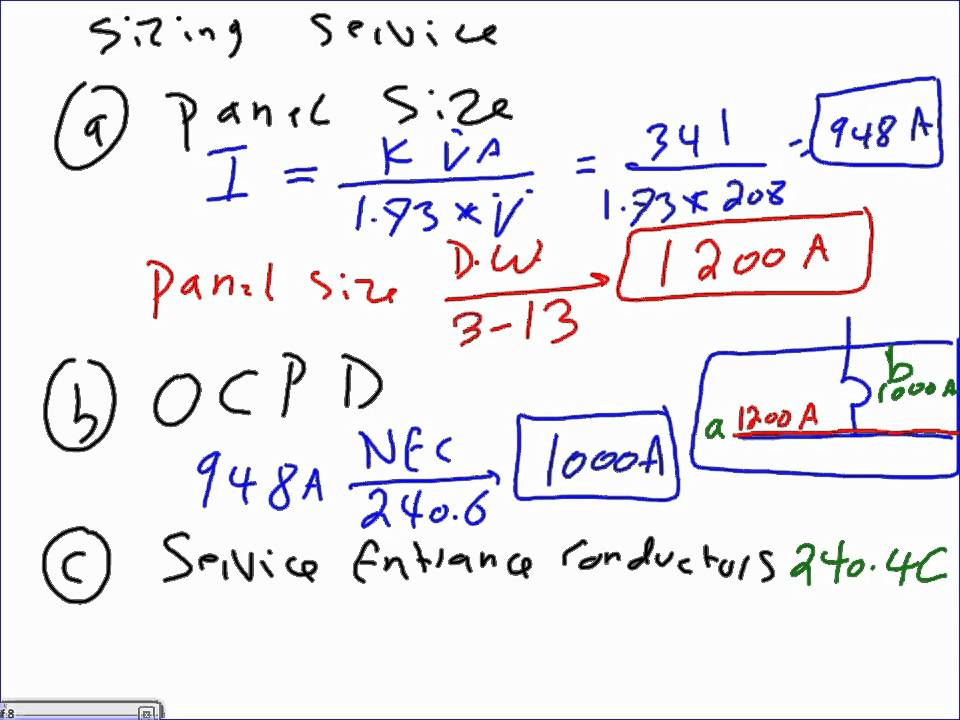 Commercial Electrical Load Calculation-NEC-U#11-01-12-13-10 wmv