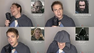 LORD OF THE RINGS/HOBBIT IMPRESSIONS! (Gandalf, Frodo, Smaug, Gimli) thumbnail