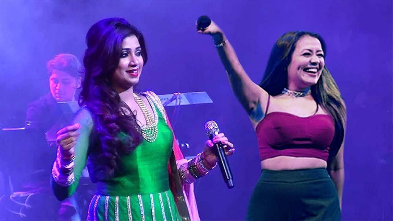 NEHA Kakkar ❤️ SHREYA GHOSHAL  ❤️ Wow Most Awesome Singing LAST NIGHT SHOW