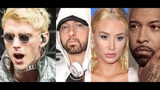 MGK REACTS to EMINEM 'Killshot', Iggy Azalea Diss Eminem, Joe Budden Days Eminem Scared to Diss Him