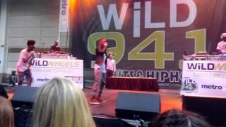 Da Pretty Boyz 94.1 Wild Wheels performance Thumbnail