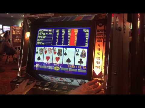 DEUCES WILD Video Poker Gameplay from Laughlin NV